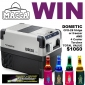 Win a DOMETIC fridge/freezer AND 4 Cooler Torches