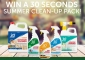 Win 1 of 3 30 Seconds clean-up packs (monthly draws)