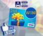 Win a $100 Pre-loaded Debit Card