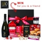 Win 1 of 2 Gift Baskets Direct Bountiful Christmas Hampers