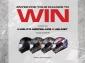 Win a Kabuto Aeroblade 5 Motorcycle Helmet