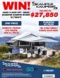 Win a $27850 Skamper Kamper or Dometic Fridge or 1 of 10 x $100 Family Parks Vouchers