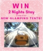 Win a 2-night Stay in a Perth Central Caravan Park Glamping Tent (no travel)