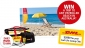 Win a trip to any patrolled beach in Australia or runner-up prizes