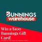 Win a $100 Bunnings Gift Card