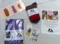 Win a Goodie Bag with Tea Towel, Socks, Earrings & Postcard