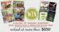 Win 10 years of Organic Gardener Back Issues + a Cookbook Pack