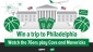 Win a trip for 2 to watch 2 NBA Games in Philadelphia USA