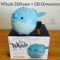 Win a Whale Diffuser & Citrus Essential Oil