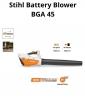 Win 1 of 2 Stihl Battery Powered Blowers