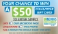 Win a $50 Coles/Myer Gift Card