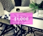 Win a $1000 InHouse Collections Shopping Spree