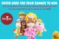 Win 7 soft toys from US toy maker Nat & Jules