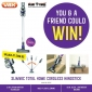 Win a Vax SlimVac Cordless Handstick Vacuum Cleaner for you & a friend