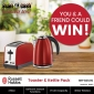 Win a Russell Hobbs Toaster & Kettle Pack for you & one for a friend