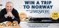 Win a trip for 2 to Norway or 1 of 30 BBQ Grill Kits