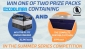 Win 1 of 2 AC/DC 60L Fridge/Freezer & Complete Portable Kitchen Packages