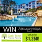 Win a 3-night Stay for up to 6 people at Calypso Plaza Resort Coolangatta Beach QLD (no travel)