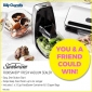 Win a Sunbeam Foodsaver Fresh Vacuum Sealer for you and one for a friend