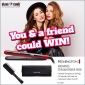 Win a Remington Hair Straightener Pack for you and one for a friend