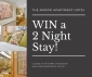 Win a 2-night Stay for 2 people at the Manor Apartment Hotel in Brisbane (no travel)