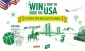 Win a trip for 2 to the USA to watch 2 NBA (Basketball) Playoff Games