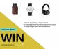 Win a Smart Wallet (with Tracker) + Watch + Headphones