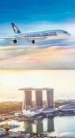 Win 2 Singapore Airlines Economy Flights via Singapore (choice of 140 destinations)