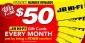 Win 1 of 30 x $50 JB Hi-Fi Digital Gift Cards