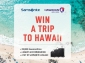 Win a trip for 2 to Hawaii (flights from/to SYD or BNE only) + a set of Samsonite ECO Luggage