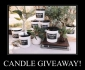 Win 12 XL Candles (1 delivered per month)