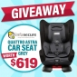 Win an Infasecure Quattro Astra Child Car Seat