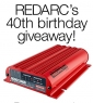 Win 1 of 4 REDARC (Electronics) Packages each with Battery Chargers, Tow Brake Controller, Voltage Guage & more..
