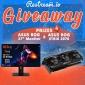 Win an ASUS Gaming PC Monitor & Graphics Card