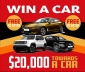 Win a $20000 A.P.Eagers Voucher to go towards a New Car