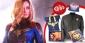 Win 1 of 5 'Captain Marvel' Merchandise Packs
