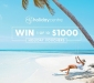 Win 1 of 10 x $1000 My Holiday Centre Travel Vouchers