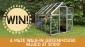 Win a Walk-in Greenhouse