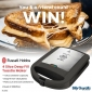 Win a Russell Hobbs 4 Slice Deep Fill Toastie Maker for you & one for a friend