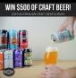 Win $500 worth of Craft Beer