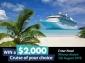 Win a $2000 Cruise1st Voucher
