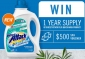 Win a 1 Year Supply of Biozet Attack PLUS QuickWash Laundry Detergent + a $500 Spa Voucher
