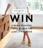 Win 2 pairs of Naturalizer Shoes + a $250 Wilbur the Label (Women's Fashion) e-Voucher
