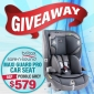 Win a Britax Safe-n-Sound Maxi Guard Pro Child Car Seat