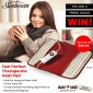 Win a Sunbeam Therapeutic Heat Pad for you and one for a friend