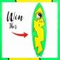 Win a Twin Fin 'The Saint' Surfboard