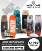 Win a choice of Wakeboard Package