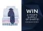 Win a Year's Supply of Van Heusen Shirts (awarded as a $1500 Van Heusen Online Voucher)