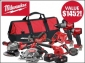 Win a 6-piece Milwaukee Power Tool Pack with Drill/Driver, Angle Grinder, 2 Saws, Compact Blower and more..