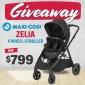 Win a Maxi Cosi Zelia 4 Wheel Stroller
